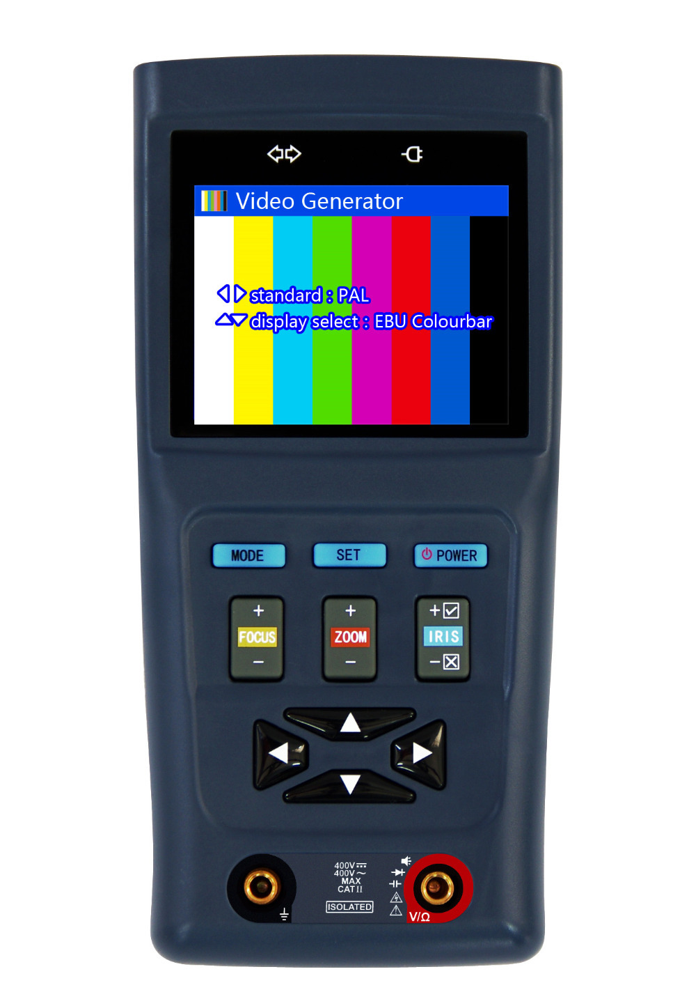 Lower Pirce New 2.8 inch NEW TVI Tester CCTV Test Monitor for 720P 1080P Camera with Multi-meter Funciton &12V1A Power Output(China (Mainland))