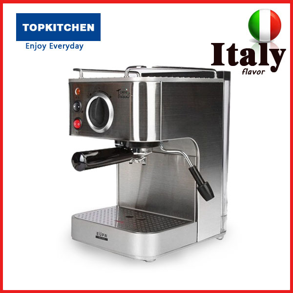 Italian Automatic Coffee Maker : 19 Bar Semi-automatic Italian Coffee Maker, 1.6 L Electric Espresso Machine/ Cuppuccino Coffee ...