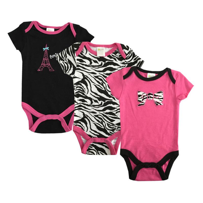 Baby Bodysuits Clothes Cotton Summer Body Carters Roupas Bebes Newborn Baby Girl Boy Bodysuit Short-sleeve Baby Clothing U-314<br><br>Aliexpress