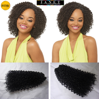 3Pieces Janet Collection Mix Hair Brand-ENCORE Jerry Curl Weaving 100% Woman Hair Quality PRO-MIX Blended Hair