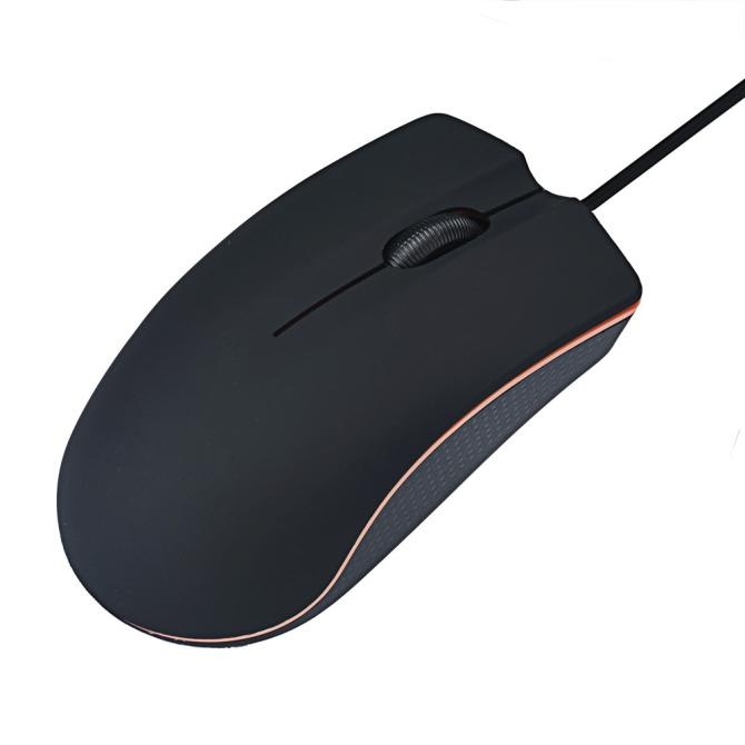 Malloom 2017 Professional 1200 DPI USB Gaming Mouse Mice for PC Laptop Computer Optical Wired Mouse gamer Black