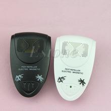 Elettronico ad ultrasuoni anti zanzara del parassita del mouse killer repeller magnetico ue dx(China (Mainland))