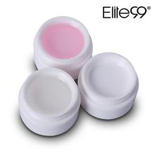 Elite99 UV Nail Gel White Clear Transparent UV Builder Extension Manicure UV Nail Gel Polish Acrylic Nail Tips Bio Gel(China (Mainland))