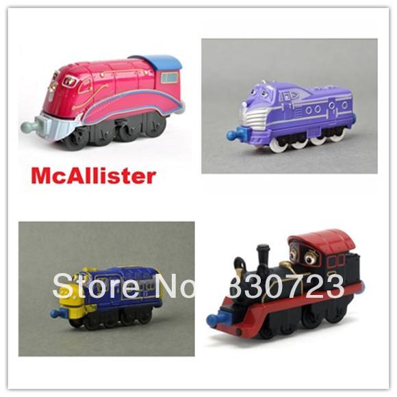 4pcs--Kids toy,Tomy Chuggington Metal Train Educational Mini Toys collections-4 train models(Hong Kong)