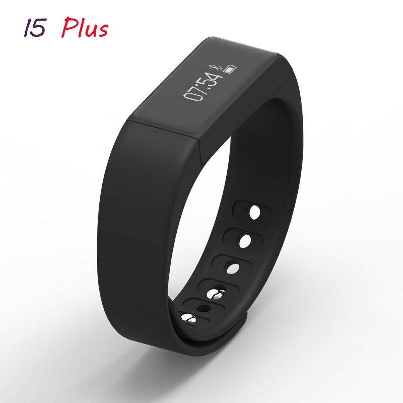 2016 Fashion Smart Fitness Bracelet I5 PLUS,Bluetooth 4.0 Smart Band for IOS/Android Phone,Pedometer,Remote Camera,Sync Message(China (Mainland))