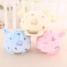 1Pcs  Newborn Baby Hats winter warm thick Boy Girl Cap Cute  Cartoon Diamond velvet Kids Hats 0-3 month(China (Mainland))