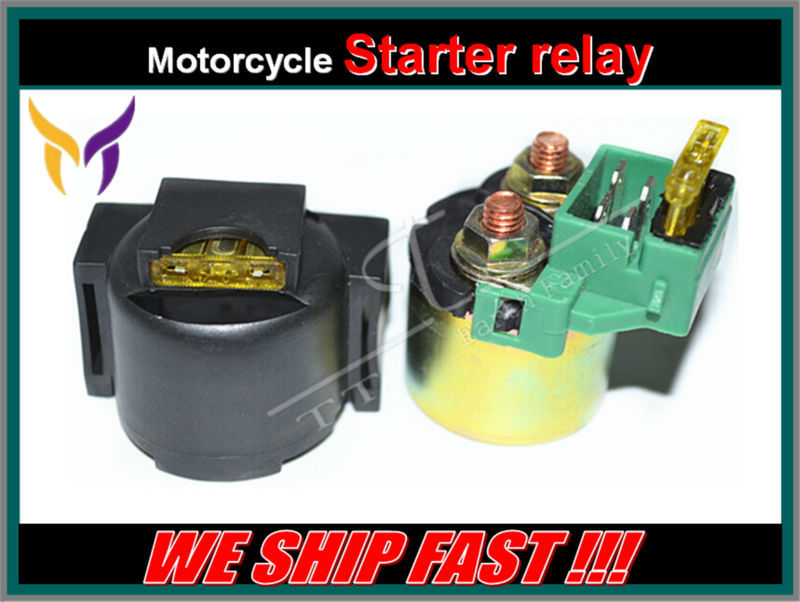 Street Motorcycle electrical Parts Starter Solenoid Relay Lgnition Key Switch For Honda GL1500 GOLDWING GL 1500 1988-2000(China (Mainland))