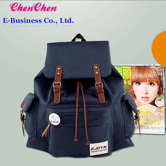 A0 The New Men's And Women's Backpack Korea Edition Tide Female
