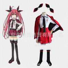 DATE A LIVE Cosplay Kotori Itsuka Costume 2015 Kawaii Halloween Costume For Women Japanese Anime Party Role Playing Uniform Saia