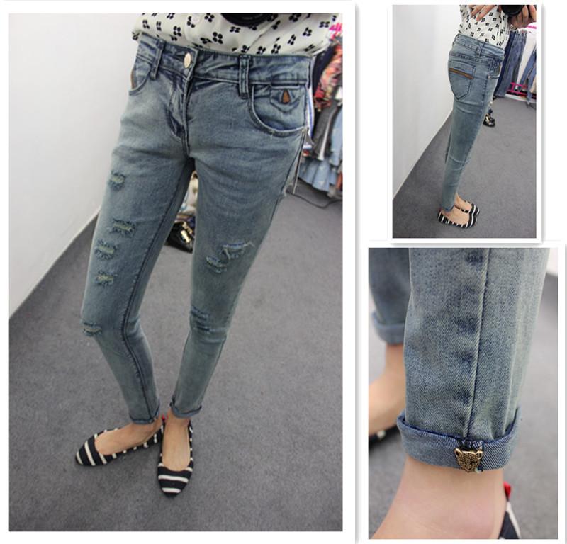 Женские джинсы PT 2015New , Pantalones Vaqueros Mujer Calca A045079 женские брюки other brands 2015 5xl pantalones mujer calca dx1125004