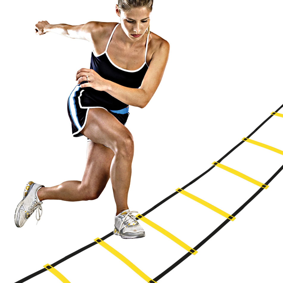 New Durable 9 rung 4M Agility Ladder for Soccer Speed Training Equipment Football Speed Training Ladder(China (Mainland))