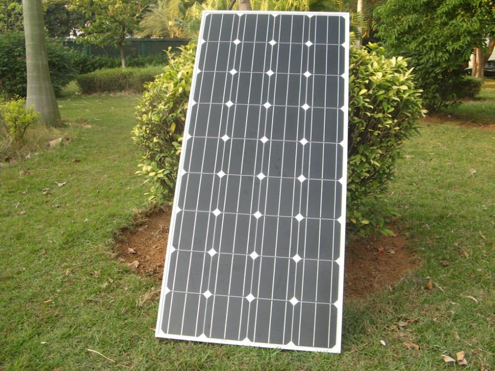 ECO WORTHY 150W 12V RV Mono Monocrystalline Solar Panel Solar Module 12V for RV Boat Home