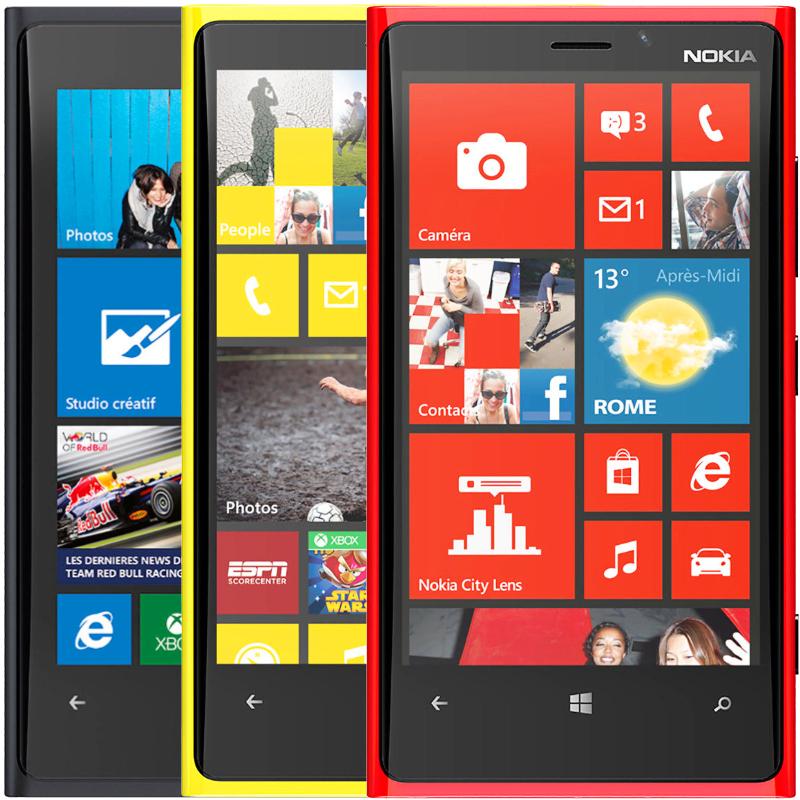 Original Nokia Lumia 920 Unlocked Dual Core 1.5GHz 32GB 8.7MP 4.5'' Windows 8 GPS WiFi NFC 3G Mobile Phone Refurbished(China (Mainland))