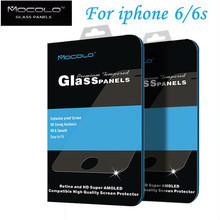 Free shipping Original brand For iphone 6 6S mocolo tempered glass screen Protector Film 4.7″ iphone 6 6 S Glass 0.33mm