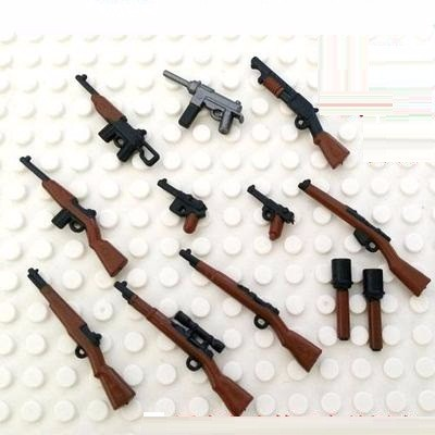 Weapon series set lepin military weapons guns original toy swat police military weapons accessories Compatible lepin Minifigures