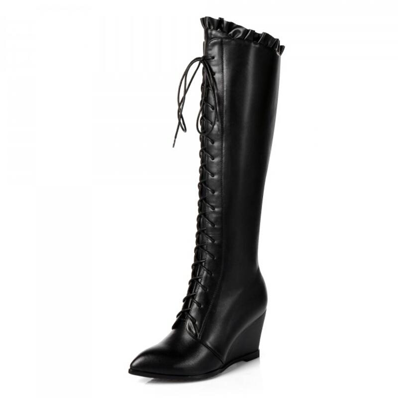 popular knee high western boots buy cheap knee high