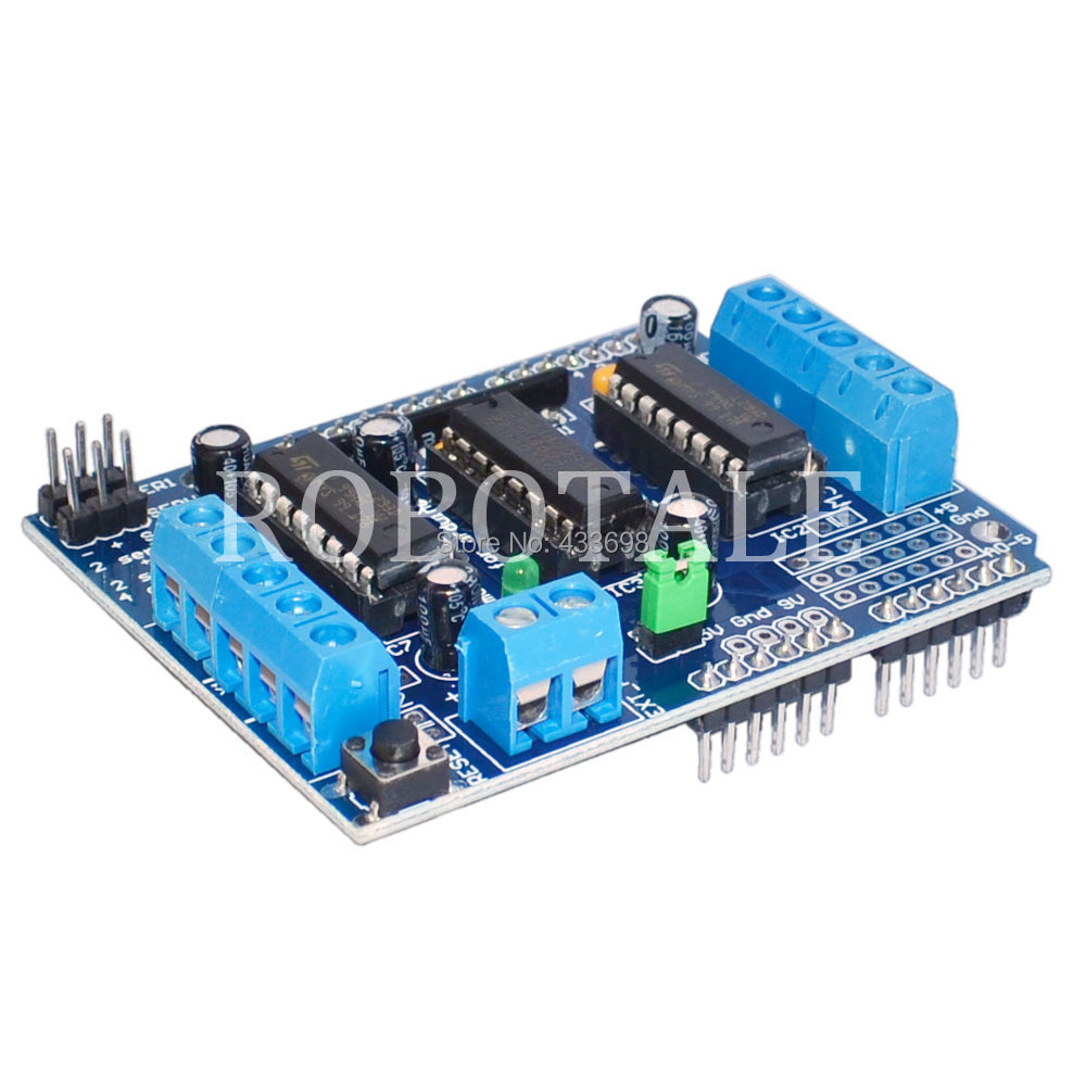 Buy l298p motor driver expansion board arduino works Arduino motor control board