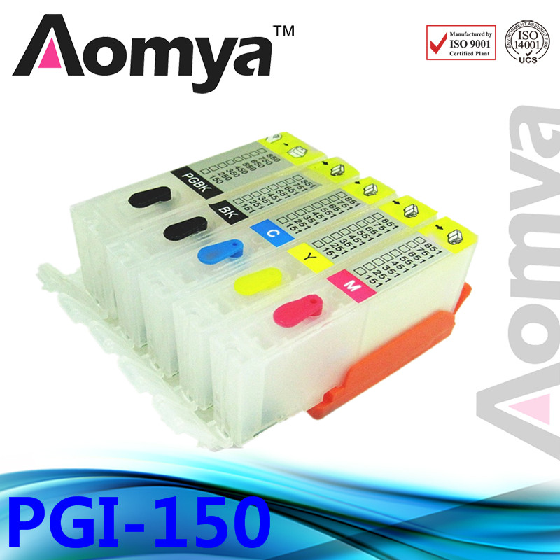 With chip!!!!  FULL refillable cartridge for Canon PGI150/CLI151 with chip!!!!