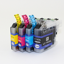 New Arrival,chipped compatible ink cartridge LC103 for brother DCP-J152W MFC-J245 MFC-J285DW MFC-J450DW MFC-J470DW MFC-J475DW(China (Mainland))