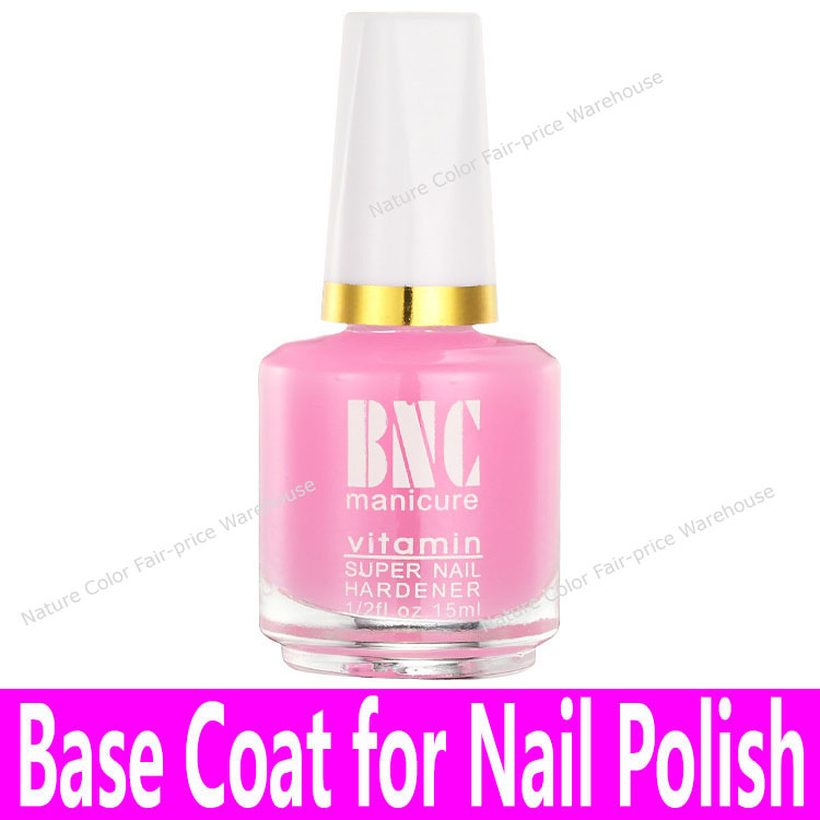 1 bottle Nail Art Base Oil with Brush Base Coat for Common Nail Polishes China Cheap Brand Glass Bottle Pink Calcium Bottom Oil