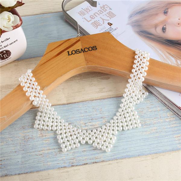 Новая Мода Имитация Перл Себе Ожерелье Для Женщин Одежда Аксессуары 8 Стили