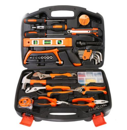 106 piece Hardware hand tool set woodworking power tools toolbox home kit combination Gift Set Repair Multifunction Tools<br><br>Aliexpress