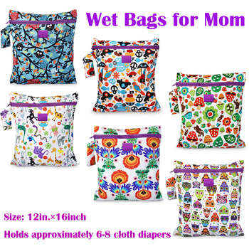 Baby Changing Bag to Mother Wet And Dry Baby Diaper Bag Молния Nappy Bags Holding ...