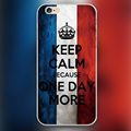 One day more words Design transparent case cover cell mobile phone cases for Apple iphone 4