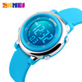 SKMEI Children watch LED Digital Sports Relojes Mujer Boys girls fashion Kids Cartoon Jelly Waterproof Relogio