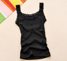 Women Sexy Tank Tops,Multicolors Sleeveless Bodycon Temperament T-shirt Vest,Summer Fashion Lace Camisole Top(China (Mainland))