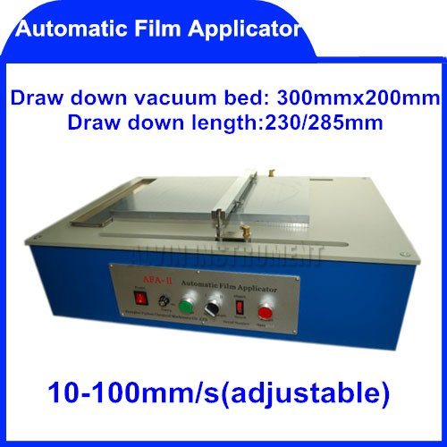 Free Shipping Automatic Film Applicator (Coater) coaters application applicators 10-100mm/s Draw down length:230/285mm(China (Mainland))