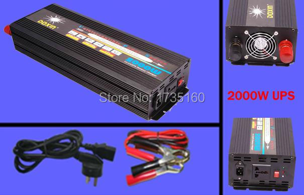 2000W 12VDC-220VAC Modified sine wave inverter with AC charger supply inverter AC charge home inverter<br><br>Aliexpress