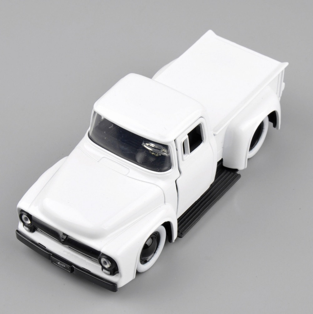 Collectible Jada Toys 1:32 Scale White Color 1956 Ford-F-100 Pickup Alloy Diecast Car Truck Model Kids Toys Gifts brinquedos B(China (Mainland))