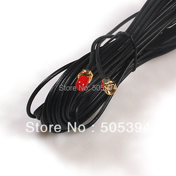 Free shipping 6M Antenna RP-SMA Extension Cable WiFi Router #9998