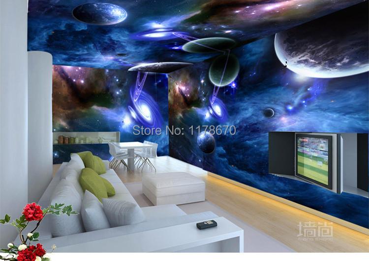 Wholesale 3d Personalized Custom Galaxy Star Restaurant
