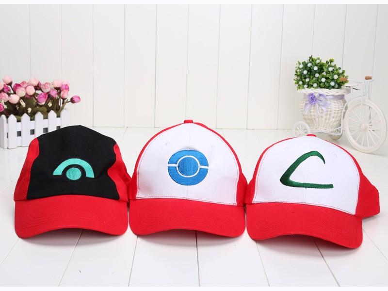 High-quality-Pokemon-ASH-KRTCHUM-COSYUME-Hat-Baseball-cap-Drop-Ship-Free-Shipping (2)