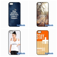 Stay Positive Life Phone Cases Cover Sony Xperia M2 M4 M5 C C3 C4 C5 T3 E4 Z Z1 Z2 Z3 Z4 Z5 Compact - Left Bank store