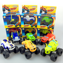 Blaze Monster Machines Russia blaze miracle cars Kid Toys Vehicle Car Transformation Toys with Retail Box(China (Mainland))
