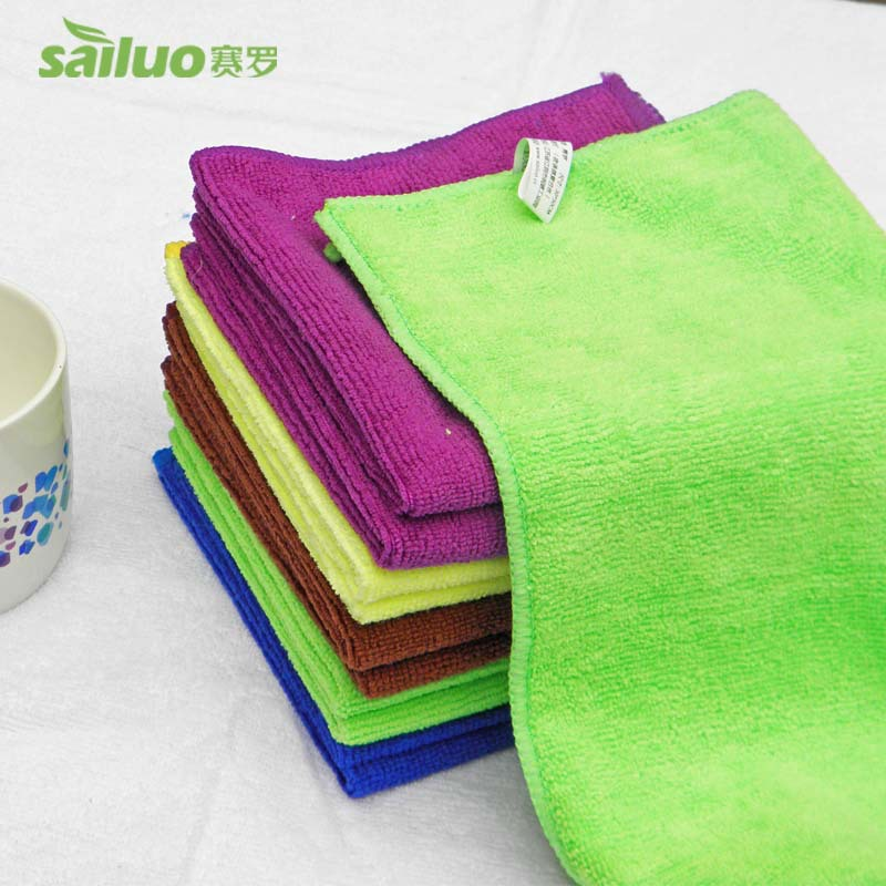 30pcs/lot MicroFiber Clean Dish Towels Super absorbent Kitchen Tea Towels hand towel Quick Dry With hanger Cloth Free Shipping(China (Mainland))