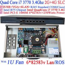 Small induatrial server machine with 6 Gigabit 82583v Lan Intel QuadCore i7 3770 3.4Ghz (China (Mainland))
