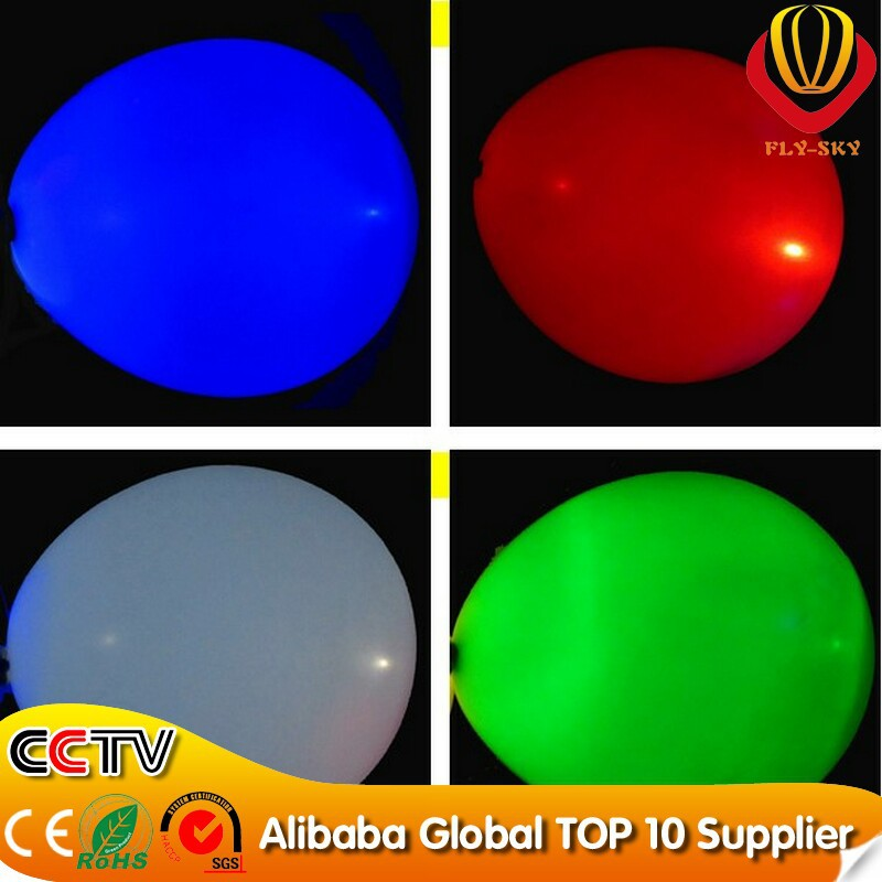 2014 ( 200pcs/lot) Free Shipping LED Light up balloon for party decoration favor With CE&ROHS(China (Mainland))