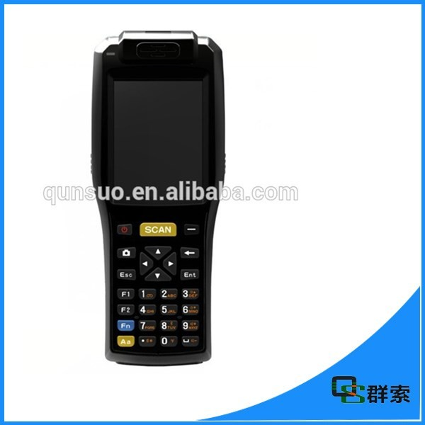 PDA3505 touch screen wireless android portable Terminal PDA with NFC reader ,thermal printer and symbol barcode scanner(China (Mainland))