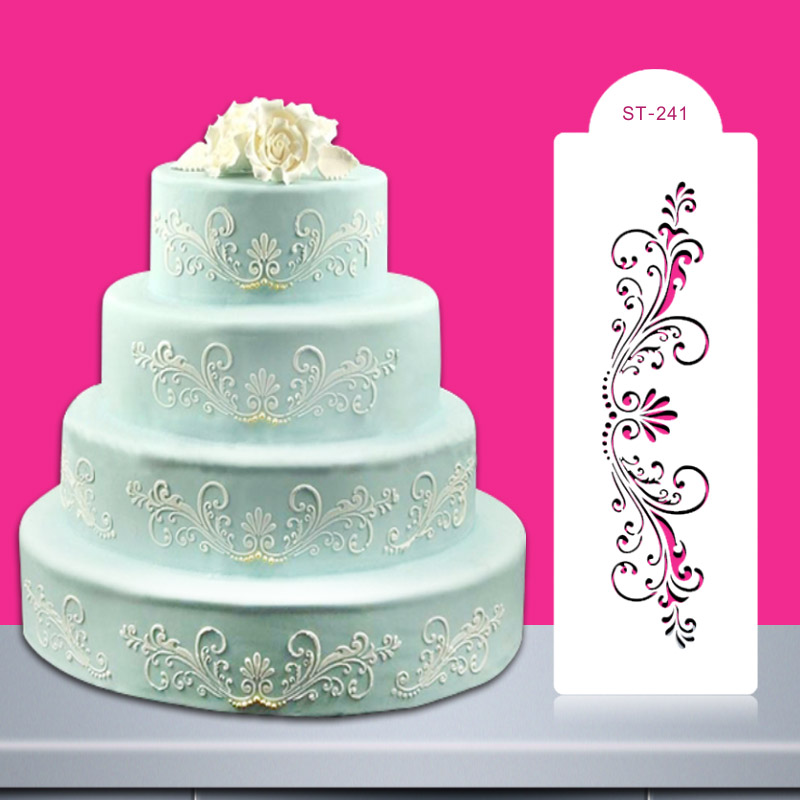 Aliexpress.com : Buy Christmas Wedding Cake Stencil ...