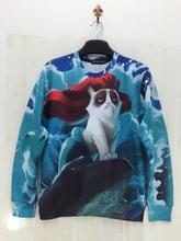 New Fashion Women/Men Cotton 3D Hoodies Print Drunk Simpsons/Smoking Monkey/Minions Cartoon 3D Sweatshirts Long Sleeve Shirt(China (Mainland))