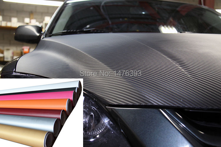 "3 D texture CARBON Fiber Wrap Vinyl Decal Car cover Sticker sheet Twill decoration changing color film 12""x50"" 30cmx127cm(China (Mainland))"