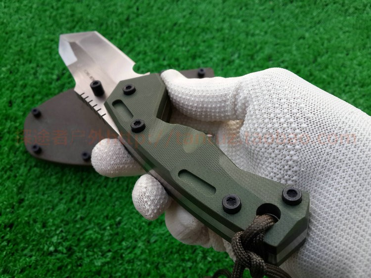Buy USA Dwaine Carrillo DC-6 Fixed Blade Knife Hunting Knife Survival Tactical Knives Camping Outdoor Tools With ABS Sheath cheap