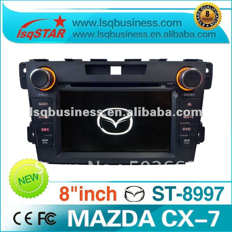 MAZDA CX-7 CX7 2001-2011 Car DVD Player GPS Navi Navigation with BOSE amplifier, in stock & free shipping(China (Mainland))