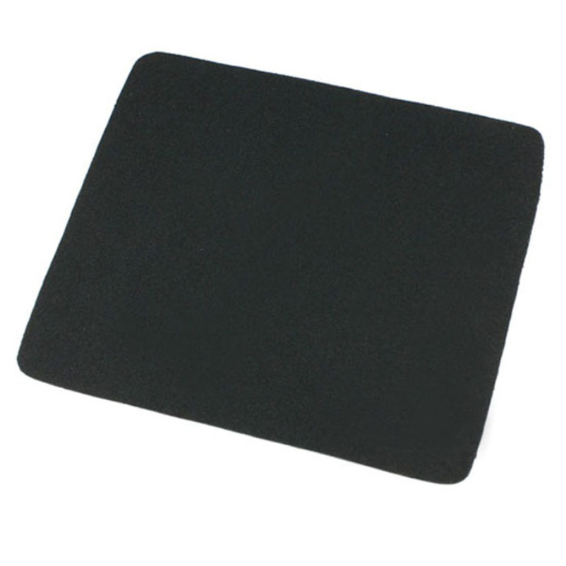 Hot selling New 22*18cm Universal Mouse Pad Mat for Laptop Computer Tablet PC Black(China (Mainland))