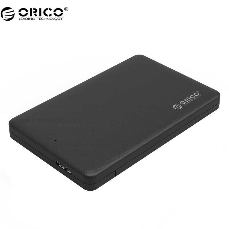 """ORICO 2577U3 2.5"""" USB 3.0 SATA HDD Box HDD Hard Disk Drive External HDD Enclosure Black Case(China (Mainland))"""