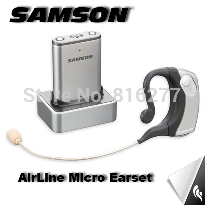 SAMSON AirLine Micro Earset Wireless headworn microphone ear microphone portable for stage performance DHL shipping<br>